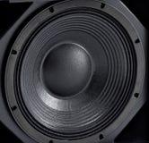 Στερεοφωνικός βαθύς υγιής ομιλητής εξοπλισμού μουσικής ακουστικός στοκ φωτογραφίες