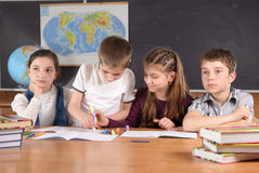 στερεότυπο σχολείο Στοκ εικόνες με δικαίωμα ελεύθερης χρήσης