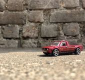 Στερεό βράχου του Volkswagen Caddy στοκ εικόνες