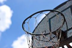 Στεφάνη καλαθοσφαίρισης. Στοκ Φωτογραφία