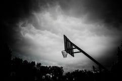 Στεφάνη καλαθοσφαίρισης Στοκ Φωτογραφία