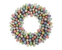 στεφάνι αυγών Πάσχας στοκ φωτογραφία με δικαίωμα ελεύθερης χρήσης