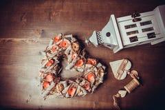 Στεφάνι καρδιών Στοκ Φωτογραφία