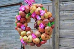 Στεφάνι κρεμμυδιών Στοκ Φωτογραφίες