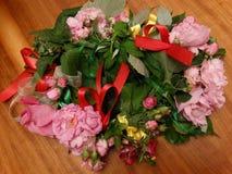 στεφάνι λουλουδιών Στοκ φωτογραφίες με δικαίωμα ελεύθερης χρήσης