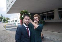 Στεφάνι των φύλλων δαφνών Στοκ Φωτογραφίες