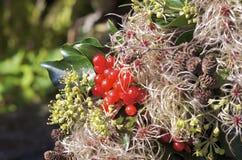 Στεφάνι φθινοπώρου, λεπτομέρεια Στοκ φωτογραφία με δικαίωμα ελεύθερης χρήσης