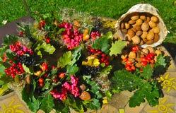 Στεφάνι φθινοπώρου Στοκ εικόνες με δικαίωμα ελεύθερης χρήσης