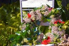 Στεφάνι φθινοπώρου Στοκ Εικόνες