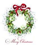 στεφάνι Χριστουγέννων ανα Στοκ φωτογραφία με δικαίωμα ελεύθερης χρήσης