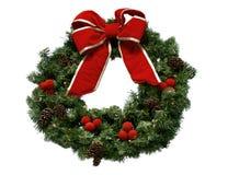 στεφάνι Χριστουγέννων Στοκ Εικόνες