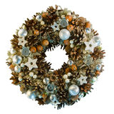 στεφάνι Χριστουγέννων Στοκ φωτογραφία με δικαίωμα ελεύθερης χρήσης