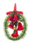 στεφάνι Χριστουγέννων Στοκ εικόνες με δικαίωμα ελεύθερης χρήσης
