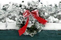 στεφάνι Χριστουγέννων στοκ φωτογραφίες