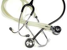 στηθοσκόπια γιατρών s Στοκ Φωτογραφία