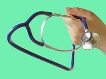 στηθοσκόπιο γιατρών Στοκ Φωτογραφία