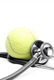 Στηθοσκόπιο και σφαίρα αντισφαίρισης Στοκ εικόνες με δικαίωμα ελεύθερης χρήσης