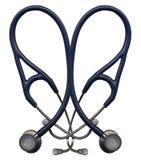 στηθοσκόπιο καρδιών Στοκ εικόνα με δικαίωμα ελεύθερης χρήσης