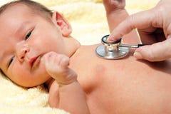 στηθοσκόπιο μωρών στοκ φωτογραφίες με δικαίωμα ελεύθερης χρήσης