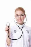 στηθοσκόπιο νοσοκόμων στοκ φωτογραφία με δικαίωμα ελεύθερης χρήσης