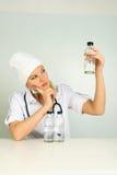 στηθοσκόπιο φαρμάκων για& Στοκ εικόνα με δικαίωμα ελεύθερης χρήσης
