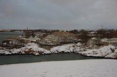 Στην άκρη πάρκων στο Ελσίνκι Στοκ Εικόνες