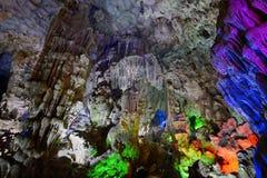 Στην έκπληξη Grotto (κρεμάστε τον τραγουδημένο μέθυσο), κόλπος Halong Στοκ φωτογραφία με δικαίωμα ελεύθερης χρήσης