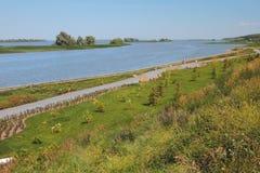 Στην ακτή του κόλπου του Βόλγα Bulgar, Ρωσία στοκ φωτογραφία με δικαίωμα ελεύθερης χρήσης