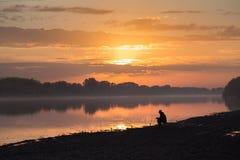 Στην αλιεία στοκ φωτογραφίες με δικαίωμα ελεύθερης χρήσης