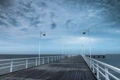 Στην αυγή θαλασσίως Στοκ Εικόνα