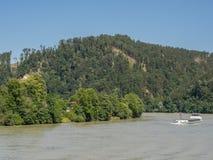 Στην αυστριακή κοιλάδα Δούναβη Στοκ Φωτογραφία