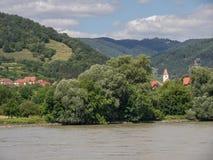 Στην αυστριακή κοιλάδα Δούναβη Στοκ Εικόνα