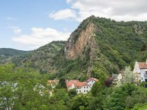 Στην αυστριακή κοιλάδα Δούναβη Στοκ Φωτογραφίες