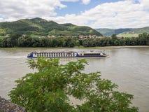 Στην αυστριακή κοιλάδα Δούναβη Στοκ Εικόνες