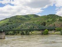Στην αυστριακή κοιλάδα Δούναβη Στοκ εικόνα με δικαίωμα ελεύθερης χρήσης