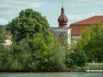 Στην αυστριακή κοιλάδα Δούναβη Στοκ φωτογραφία με δικαίωμα ελεύθερης χρήσης