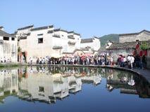 Στην επαρχία Anhui, χωριό της Κίνας Hongcun Στοκ Εικόνες
