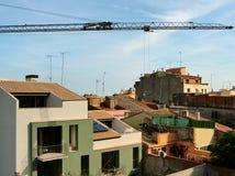 Στην καταλανική πόλη Figueres Στοκ Εικόνες