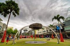 Στην κεντρική οδό, Fort Bonifacio Στοκ εικόνες με δικαίωμα ελεύθερης χρήσης