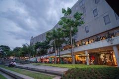 Στην κεντρική οδό, Fort Bonifacio Στοκ Εικόνα