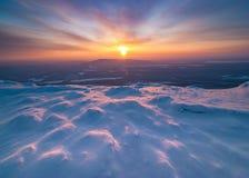 Στην κορυφή της Καρελίας Στοκ Εικόνα