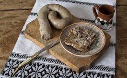 Στην κουζίνα στοκ φωτογραφία με δικαίωμα ελεύθερης χρήσης