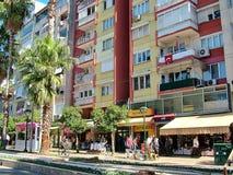 Στην οδό Ataturk σε Antalya, Τουρκία Στοκ Εικόνα
