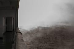 Στην ομίχλη Στοκ Φωτογραφίες