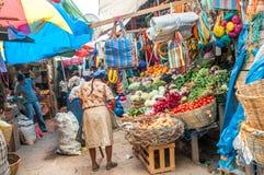 Στην Ονδούρα στην αγορά Στοκ Φωτογραφία