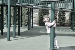 Στην παιδική χαρά Στοκ εικόνα με δικαίωμα ελεύθερης χρήσης