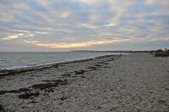 Στην παραλία στη Γερμανία στοκ εικόνα με δικαίωμα ελεύθερης χρήσης