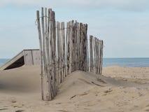 Στην παραλία μετά από μια θύελλα στοκ εικόνα με δικαίωμα ελεύθερης χρήσης