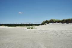 Στην παραλία του ST Peter-Ording στη Γερμανία Στοκ φωτογραφίες με δικαίωμα ελεύθερης χρήσης