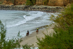 Στην παραλία Στοκ φωτογραφίες με δικαίωμα ελεύθερης χρήσης